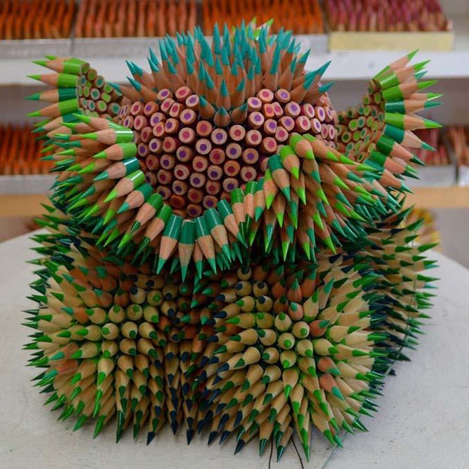Η Jennifer Maestre μετατρέπει απλά μολύβια σε απόκοσμα γλυπτά (8)