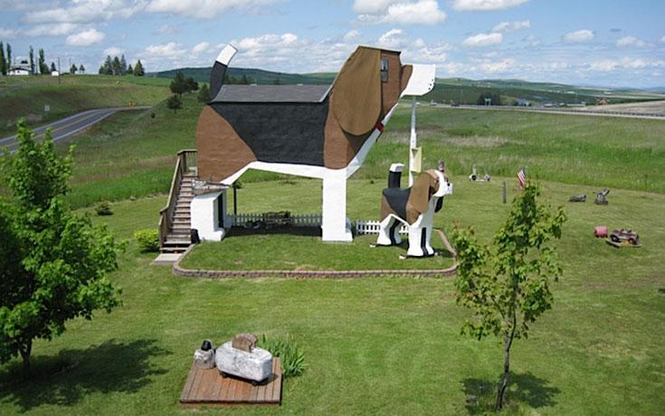 Ξενοδοχείο σε σχήμα Beagle (1)