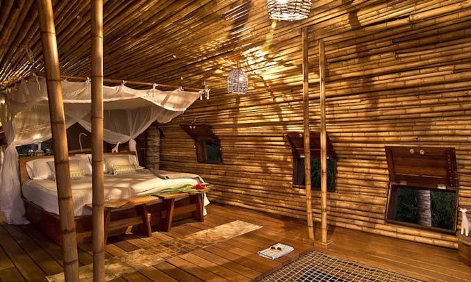 Κυλινδρικό δενδρόσπιτο από bamboo στο Μεξικό (6)