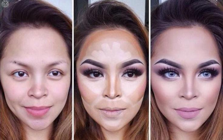 Μεταμορφώσεις μακιγιάζ που θα σας αφήσουν με το στόμα ανοιχτό (1)