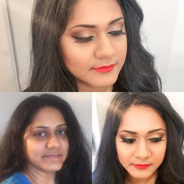Μεταμορφώσεις μακιγιάζ που θα σας αφήσουν με το στόμα ανοιχτό (6)