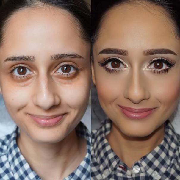 Μεταμορφώσεις μακιγιάζ που θα σας αφήσουν με το στόμα ανοιχτό (8)