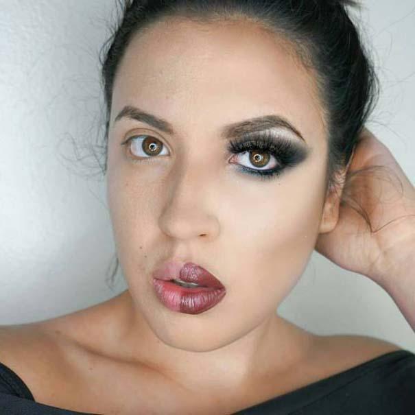 Μεταμορφώσεις μακιγιάζ που θα σας αφήσουν με το στόμα ανοιχτό (11)