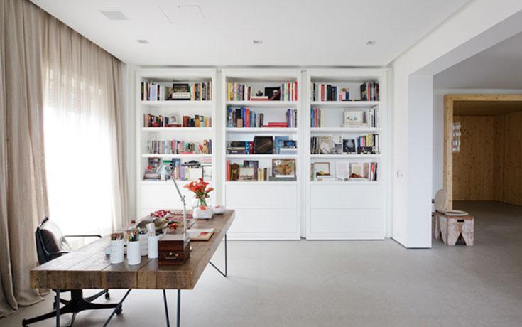 Μοντέρνα βιβλιοθήκη που κρύβει ένα μυστικό δωμάτιο (1)