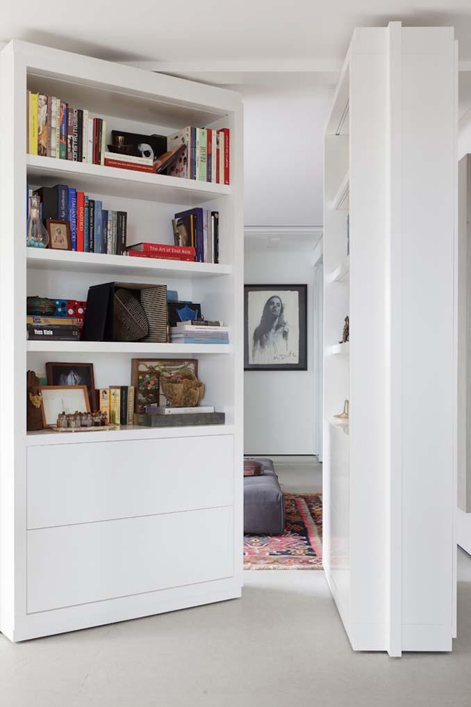 Μοντέρνα βιβλιοθήκη που κρύβει ένα μυστικό δωμάτιο (4)