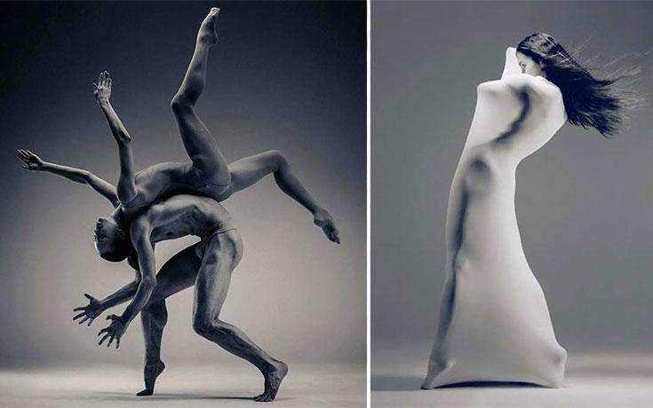 Όταν ένας γλύπτης δοκίμασε να φωτογραφίσει χορευτές, το αποτέλεσμα ήταν εκπληκτικό (1)
