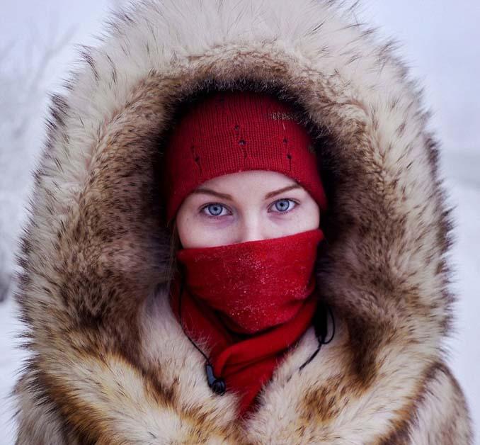 Παγωμένο χωριό στη Σιβηρία (4)