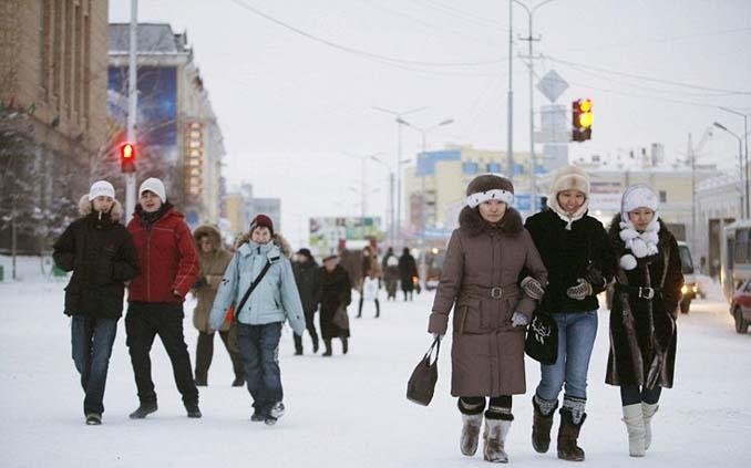 Παγωμένο χωριό στη Σιβηρία (9)