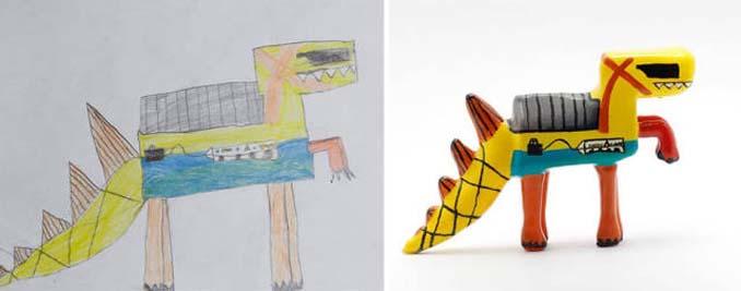 Παιδικές ζωγραφιές μετατρέπονται σε 3D παιχνίδια (1)