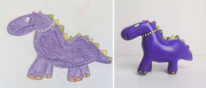Παιδικές ζωγραφιές μετατρέπονται σε 3D παιχνίδια (4)