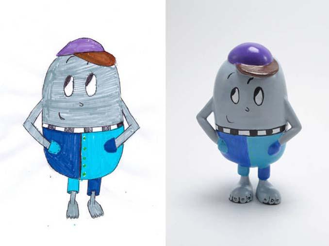 Παιδικές ζωγραφιές μετατρέπονται σε 3D παιχνίδια (6)