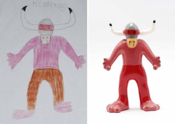 Παιδικές ζωγραφιές μετατρέπονται σε 3D παιχνίδια (8)
