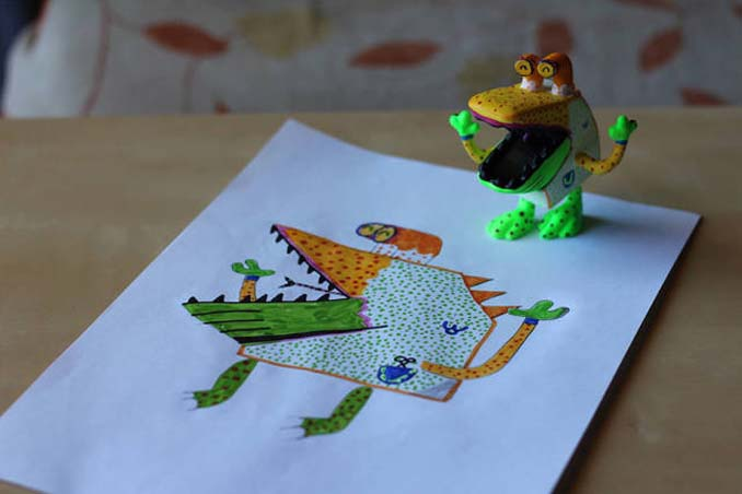 Παιδικές ζωγραφιές μετατρέπονται σε 3D παιχνίδια (9)
