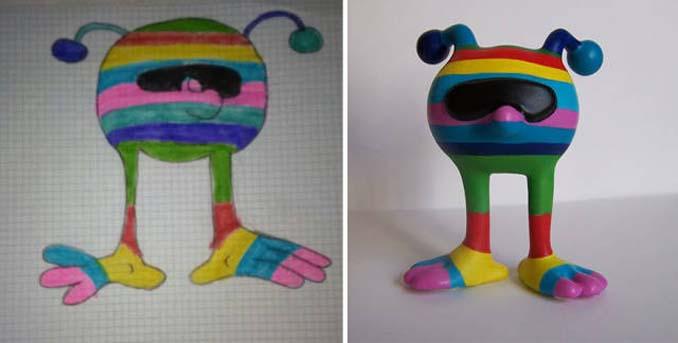 Παιδικές ζωγραφιές μετατρέπονται σε 3D παιχνίδια (12)