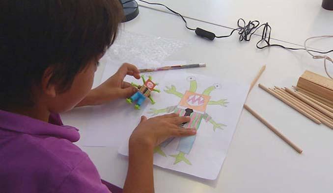 Παιδικές ζωγραφιές μετατρέπονται σε 3D παιχνίδια (13)