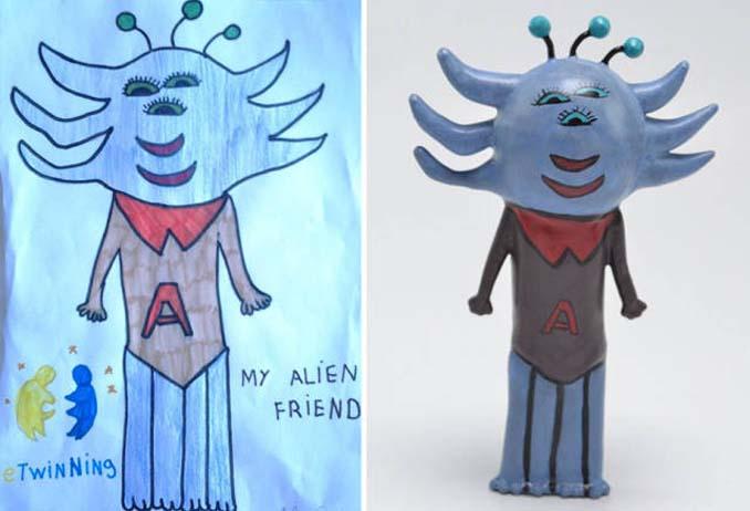 Παιδικές ζωγραφιές μετατρέπονται σε 3D παιχνίδια (16)
