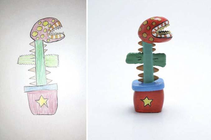 Παιδικές ζωγραφιές μετατρέπονται σε 3D παιχνίδια (17)