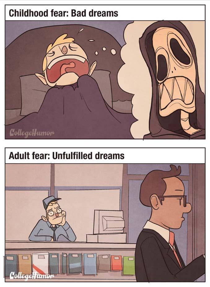 Παιδικοί φόβοι vs Φόβοι ενηλίκων (3)