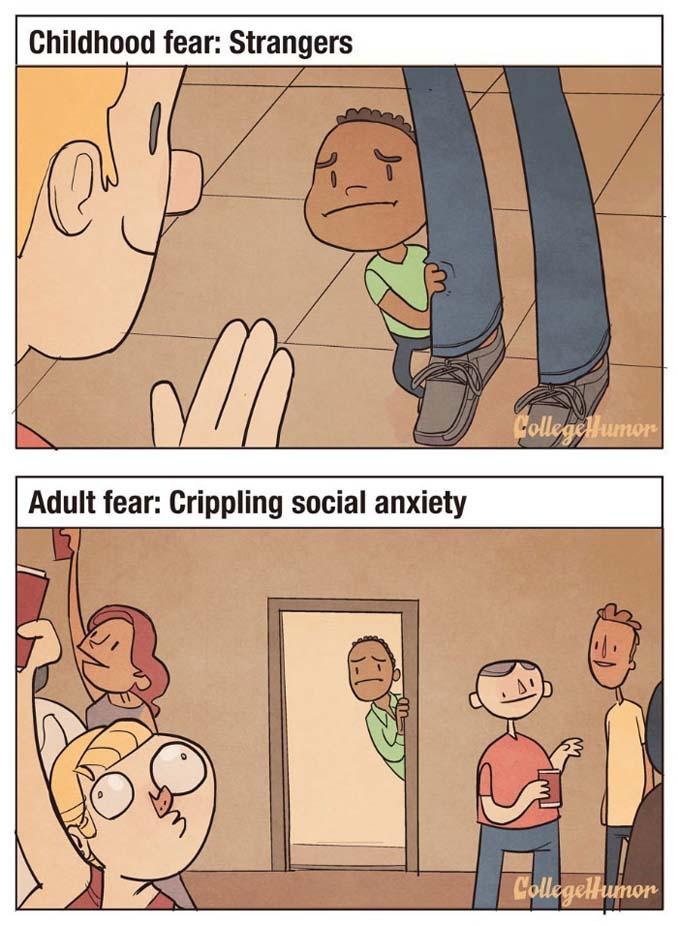 Παιδικοί φόβοι vs Φόβοι ενηλίκων (4)
