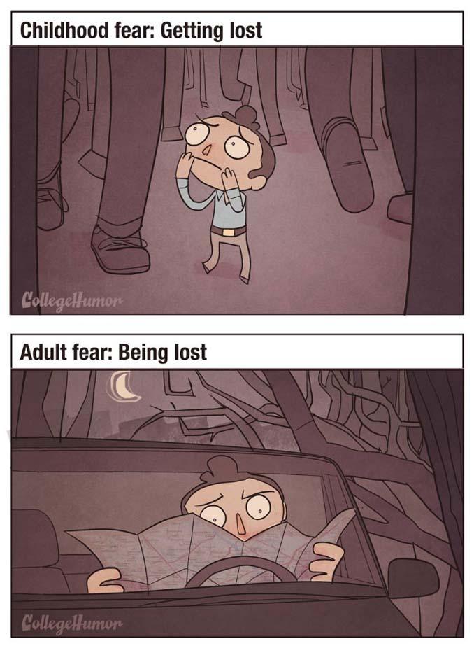 Παιδικοί φόβοι vs Φόβοι ενηλίκων (6)