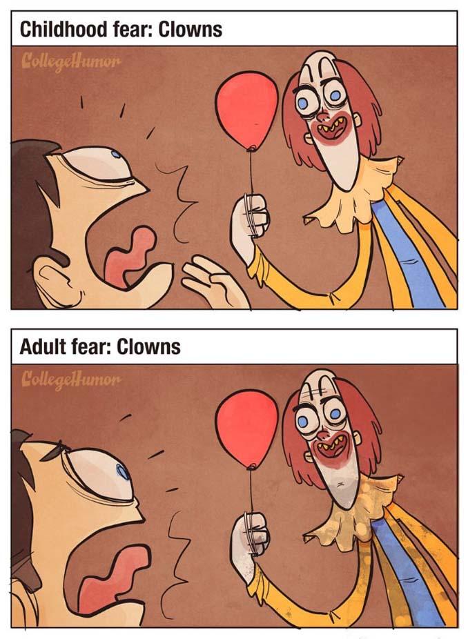 Παιδικοί φόβοι vs Φόβοι ενηλίκων (7)