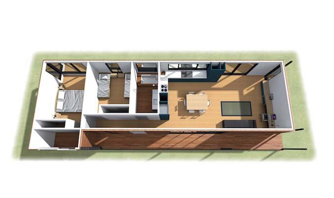 Παραθαλάσσια «πράσινη» κατοικία κατασκευάστηκε σε 6 εβδομάδες (14)