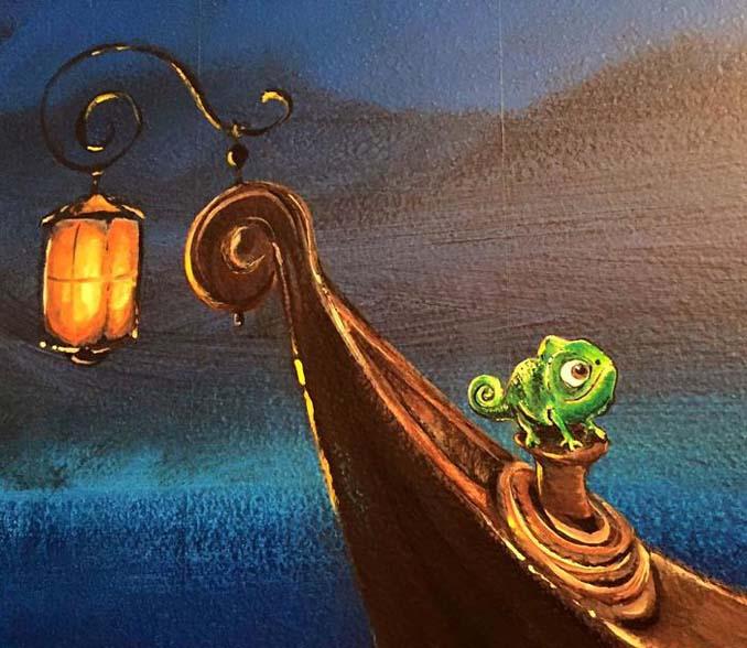Πατέρας δημιούργησε μια εκπληκτική τοιχογραφία στο δωμάτιο της κόρης του (7)