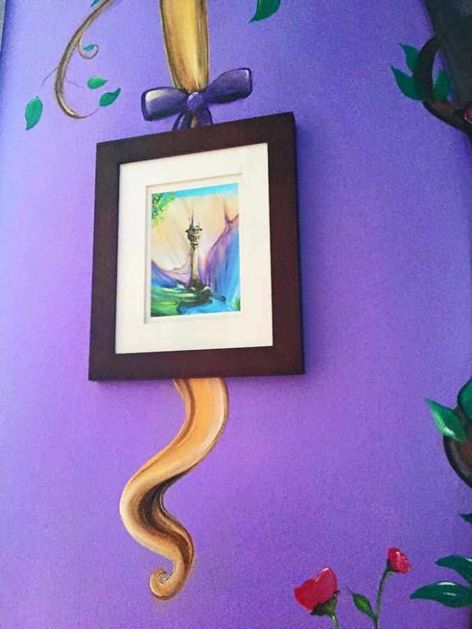 Πατέρας δημιούργησε μια εκπληκτική τοιχογραφία στο δωμάτιο της κόρης του (9)