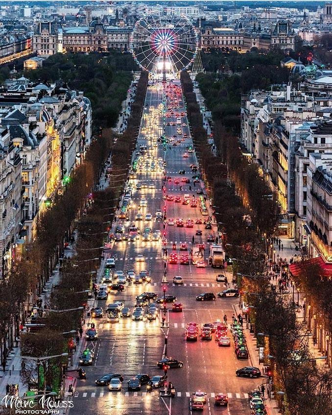 Champs-Élysées, Παρίσι   Φωτογραφία της ημέρας