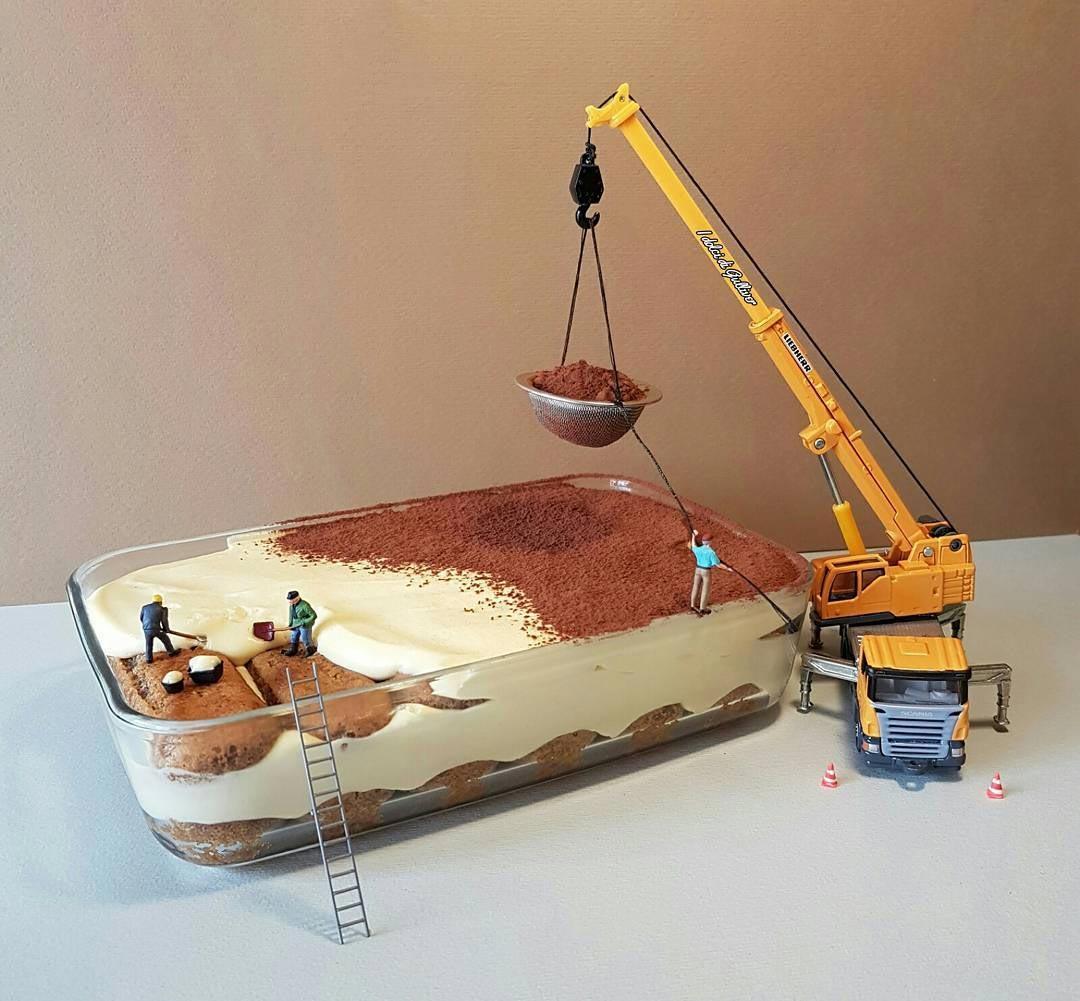 Γλυκό... υπό κατασκευή | Φωτογραφία της ημέρας