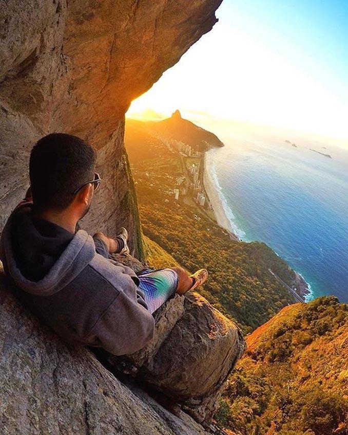 Απολαμβάνοντας ένα μοναδικό ηλιοβασίλεμα στη Βραζιλία | Φωτογραφία της ημέρας