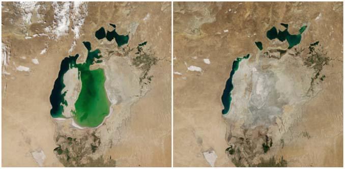 Πλανήτης Γη τότε και σήμερα: Φωτογραφίες της ΝASA (2)