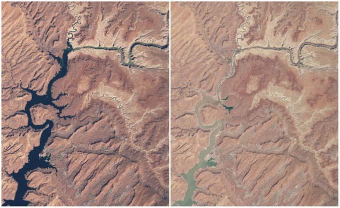 Πλανήτης Γη τότε και σήμερα: Φωτογραφίες της ΝASA (4)