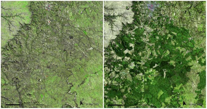 Πλανήτης Γη τότε και σήμερα: Φωτογραφίες της ΝASA (16)