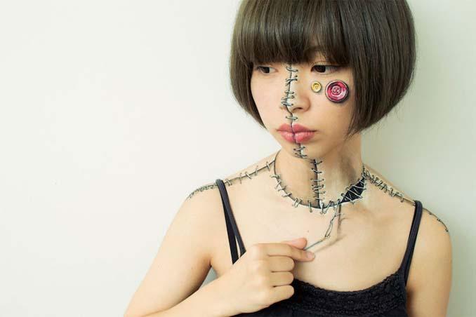 Ρεαλιστικές ζωγραφιές πάνω στο δέρμα μεταμορφώνουν το σώμα σε απίστευτες οφθαλμαπάτες (5)