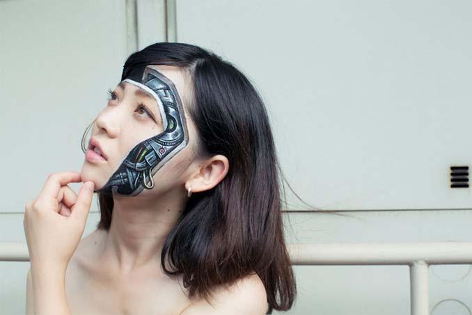 Ρεαλιστικές ζωγραφιές πάνω στο δέρμα μεταμορφώνουν το σώμα σε απίστευτες οφθαλμαπάτες (6)