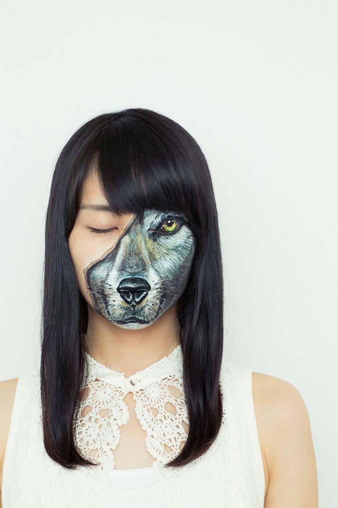 Ρεαλιστικές ζωγραφιές πάνω στο δέρμα μεταμορφώνουν το σώμα σε απίστευτες οφθαλμαπάτες (7)