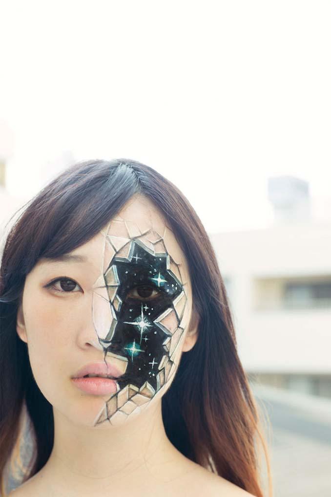 Ρεαλιστικές ζωγραφιές πάνω στο δέρμα μεταμορφώνουν το σώμα σε απίστευτες οφθαλμαπάτες (9)
