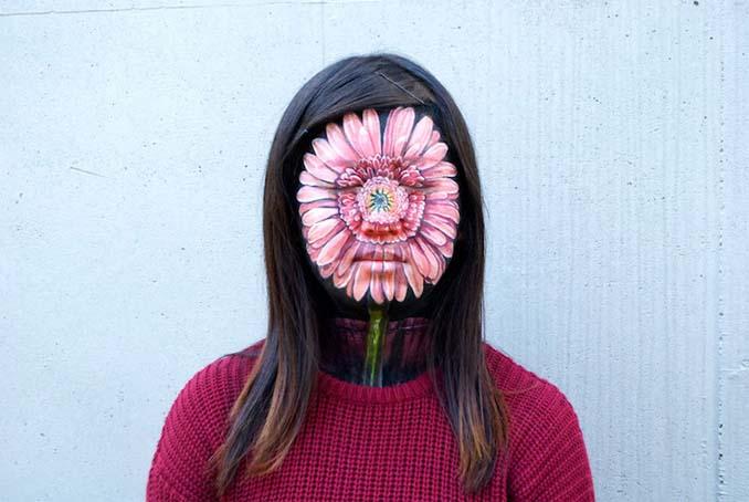 Ρεαλιστικές ζωγραφιές πάνω στο δέρμα μεταμορφώνουν το σώμα σε απίστευτες οφθαλμαπάτες (10)