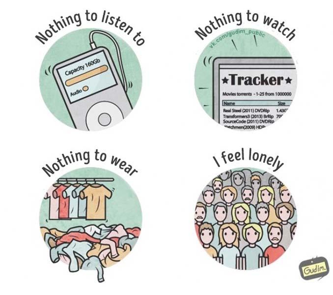 Σαρκαστικά σκίτσα που περιγράφουν την σημερινή κοινωνία (3)