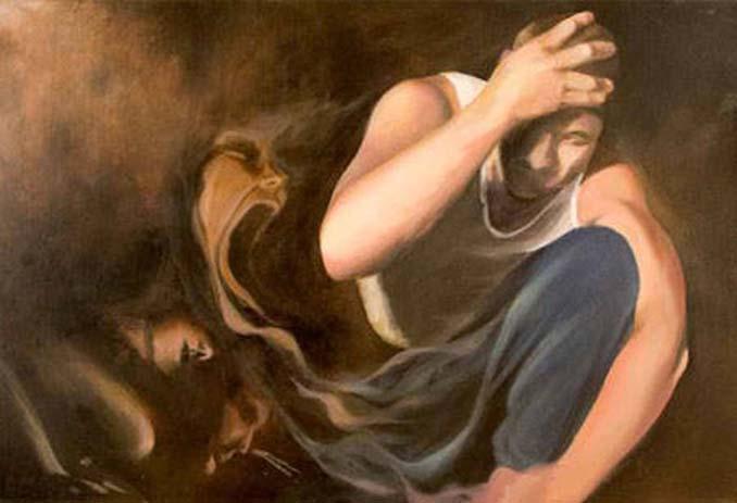 Σοκαριστικές ζωγραφιές από καλλιτέχνες που πάσχουν από σχιζοφρένεια (1)