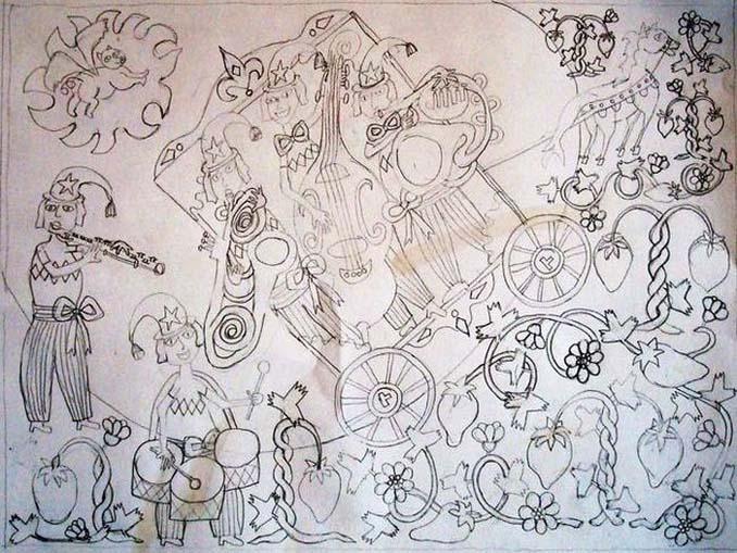 Σοκαριστικές ζωγραφιές από καλλιτέχνες που πάσχουν από σχιζοφρένεια (2)