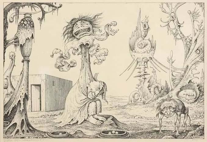 Σοκαριστικές ζωγραφιές από καλλιτέχνες που πάσχουν από σχιζοφρένεια (5)