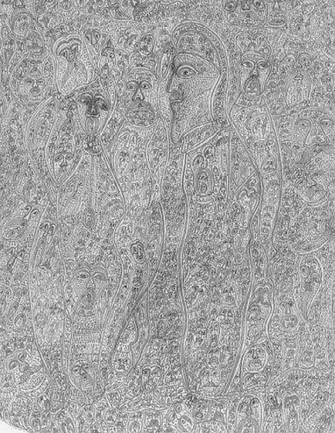 Σοκαριστικές ζωγραφιές από καλλιτέχνες που πάσχουν από σχιζοφρένεια (6)