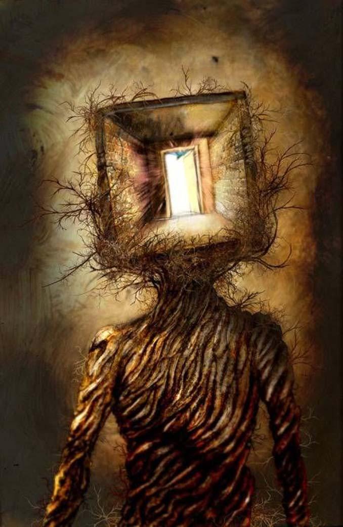 Σοκαριστικές ζωγραφιές από καλλιτέχνες που πάσχουν από σχιζοφρένεια (9)