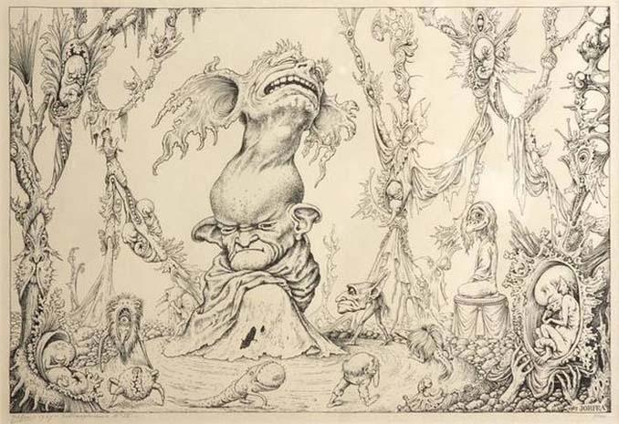 Σοκαριστικές ζωγραφιές από καλλιτέχνες που πάσχουν από σχιζοφρένεια (12)