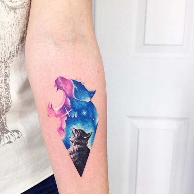 Τατουάζ για όσους λατρεύουν τις γάτες (3)