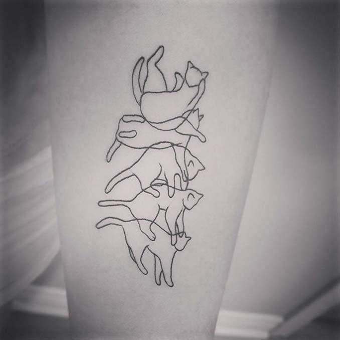 Τατουάζ για όσους λατρεύουν τις γάτες (4)