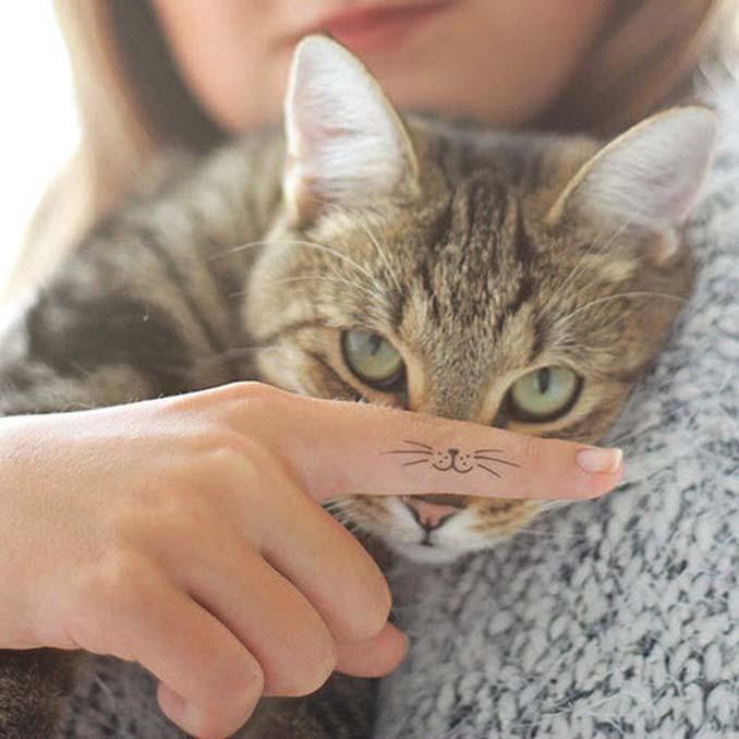 Τατουάζ για όσους λατρεύουν τις γάτες (6)