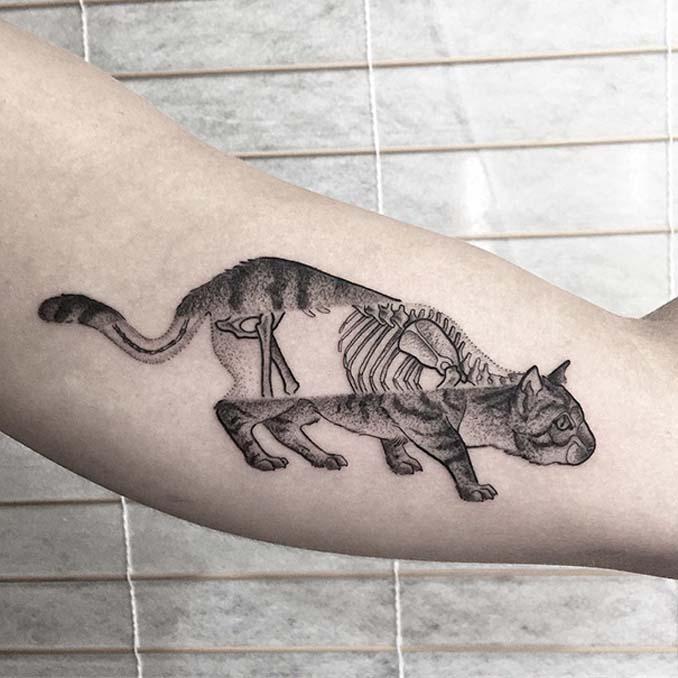 Τατουάζ για όσους λατρεύουν τις γάτες (13)